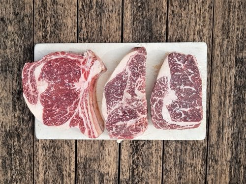 Wagyu Beef BMS 7+